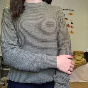Green h&m sweater